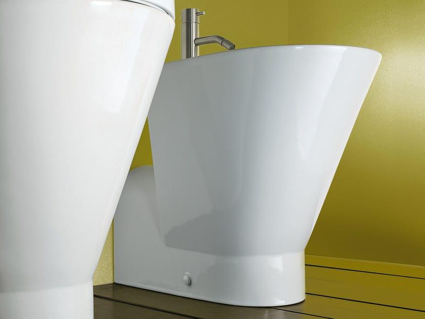 Ceramic bidet VERSO COMFORT 58 | Bidet - CERAMICA CATALANO