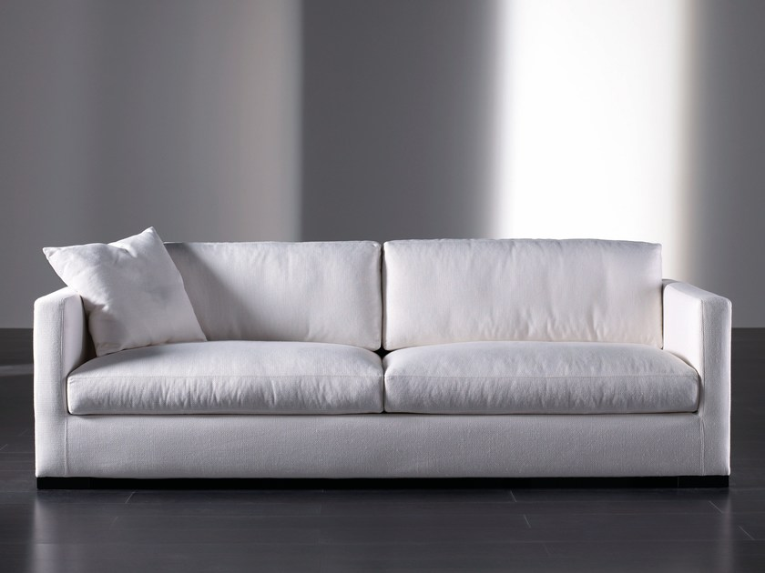 Sofa with removable cover BELMON | Sofa - Meridiani