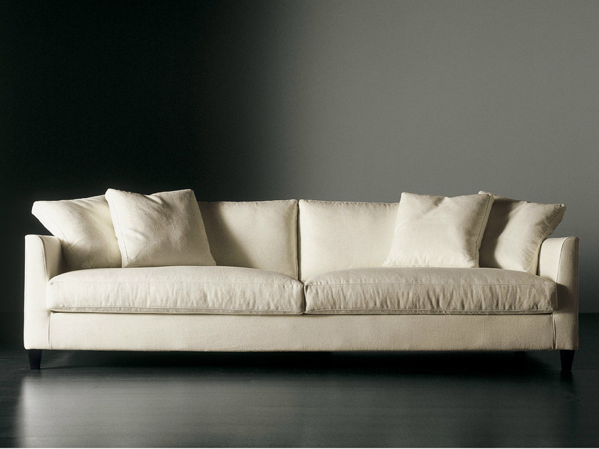 Sofa with removable cover BISSÈ MAXI | Sofa - Meridiani