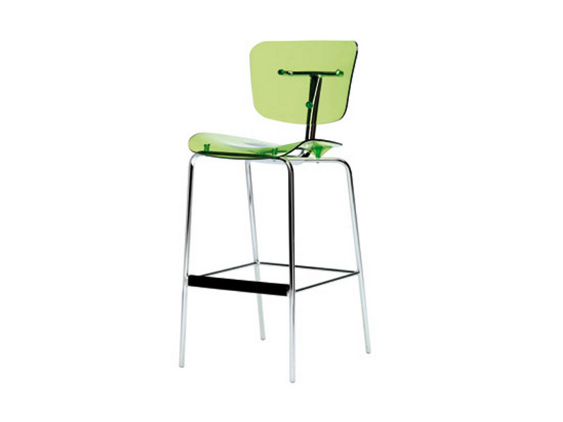 Polycarbonate chair SLIDE G0051 by Segis