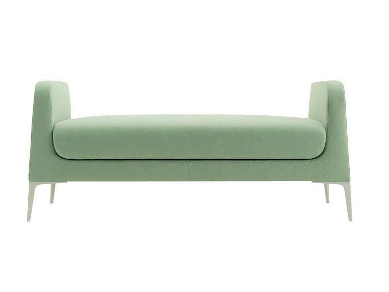 Upholstered fabric day bed ALPHABET - LAMBDA - Segis