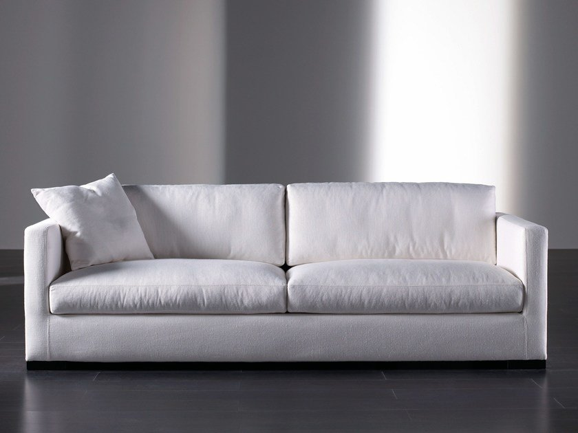 Sofa bed with removable cover BELMON | Sofa bed - Meridiani