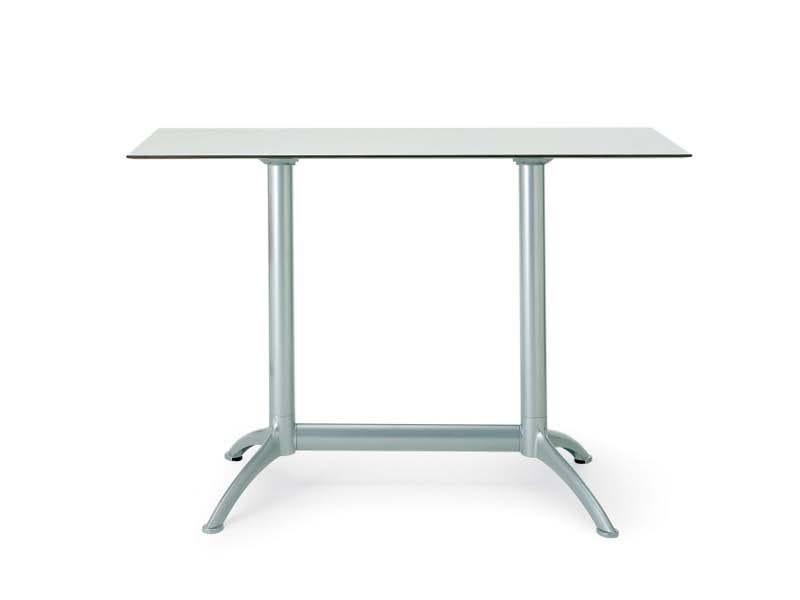 Die cast aluminium high table K2   High table - Segis