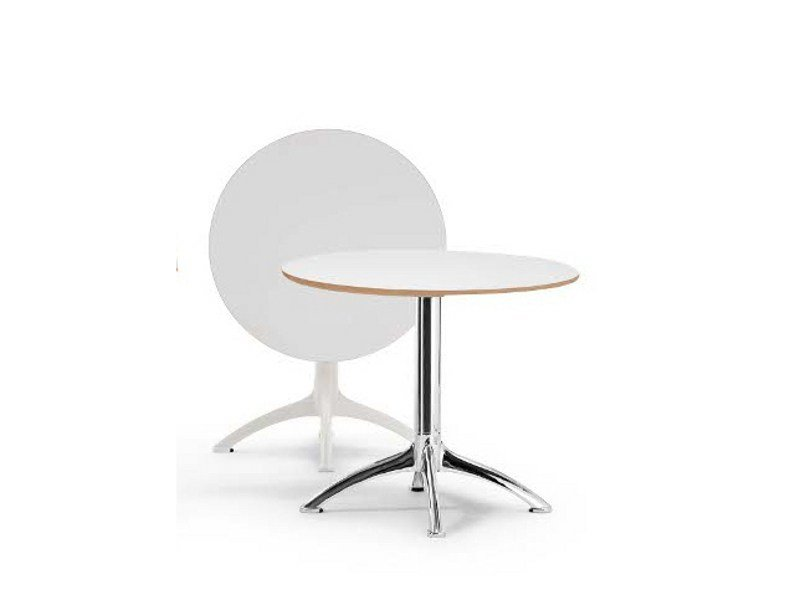 Drop-leaf round table K4 | Round table - Segis