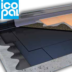 Prefabricated bituminous membrane Adekaro by ICOPAL