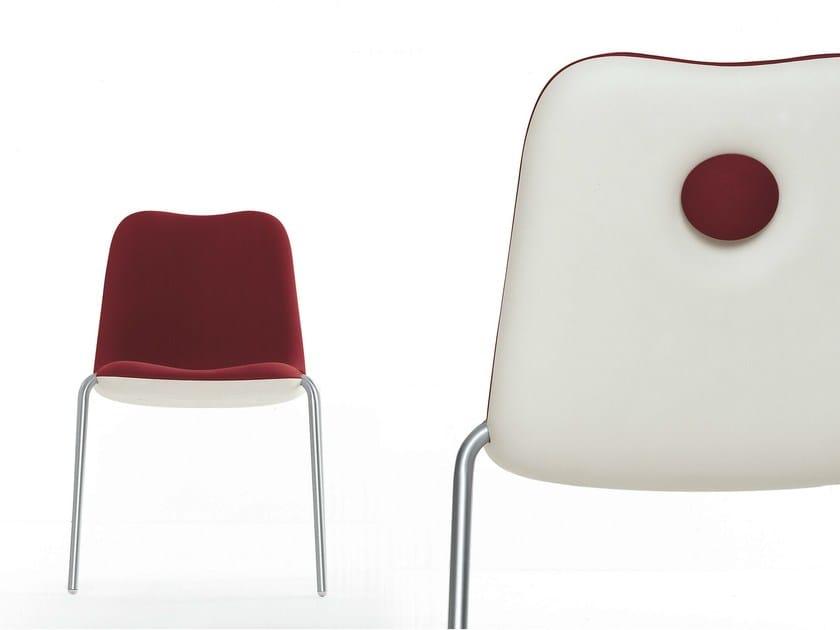 Stackable chair BOUM | Stackable chair - Kristalia