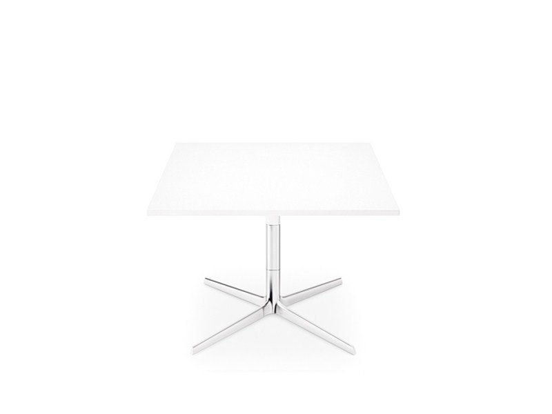 Low square coffee table GINGER H 50 | Square coffee table by arper