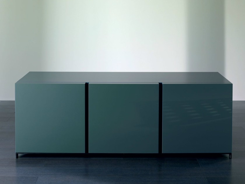 Wooden sideboard with doors BOLK | Sideboard - Meridiani