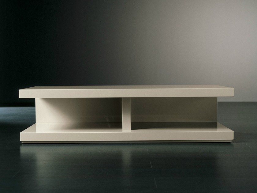 Low wooden TV cabinet CLUNY | TV cabinet - Meridiani