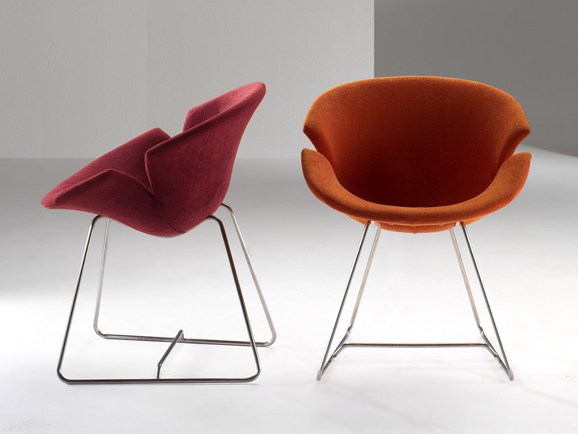 Upholstered fabric chair DAISY - GIOVANNETTI COLLEZIONI