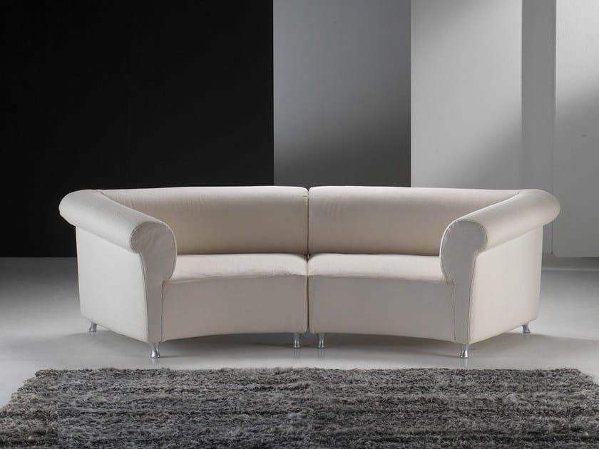Sectional fabric sofa GALASSIA LIGHT - GIOVANNETTI COLLEZIONI