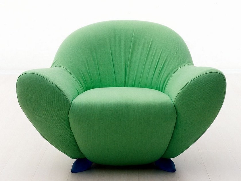 Fabric armchair MOMMA - GIOVANNETTI COLLEZIONI
