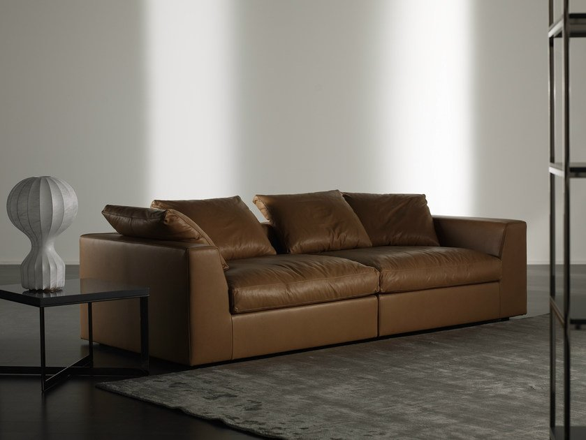 Leather sofa LOUIS PLUS | Sofa - Meridiani