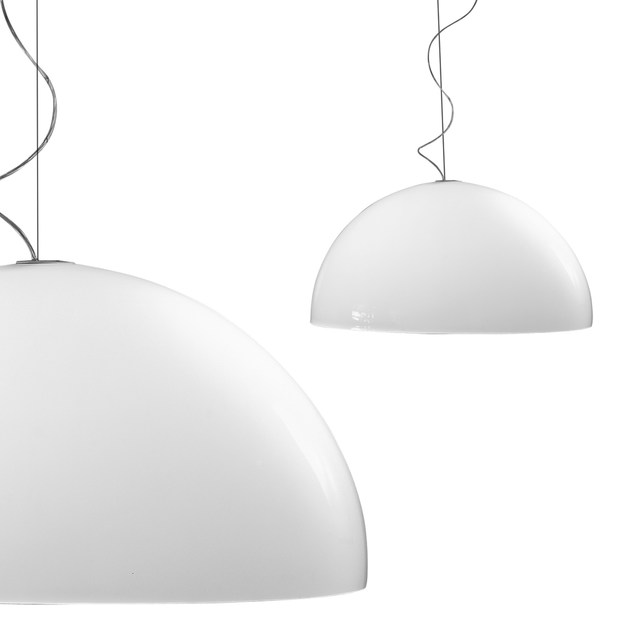 Methacrylate pendant lamp BLOW by Martinelli Luce