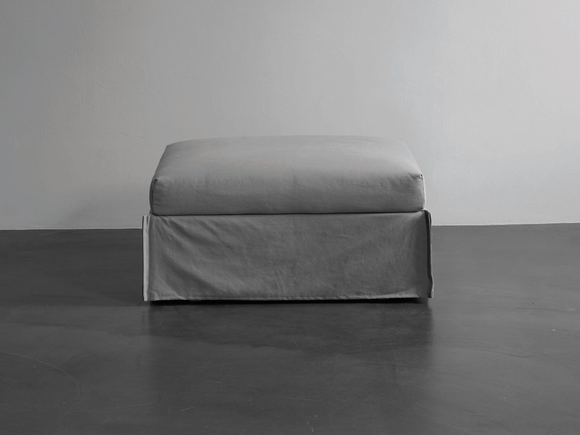 Pouf bed with removable lining FOX | Pouf bed - Meridiani