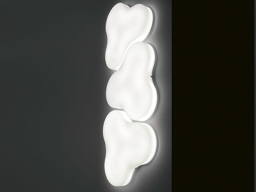 Methacrylate wall lamp TRIFOGLIO | Wall lamp - Martinelli Luce
