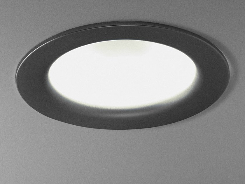 Design indirect light fluorescent aluminium ceiling light