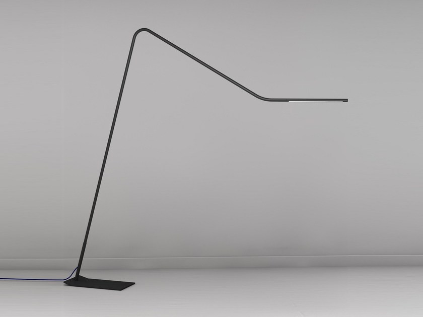 LED adjustable floor lamp COLIBRÌ | LED floor lamp by Martinelli Luce