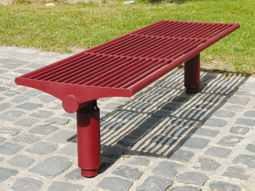 Bench without back