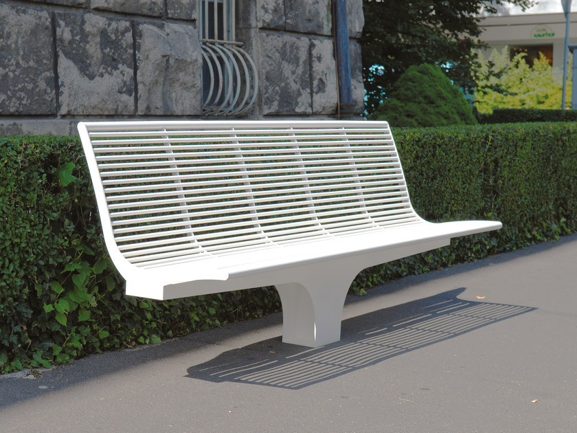 Sectional stainless steel Bench