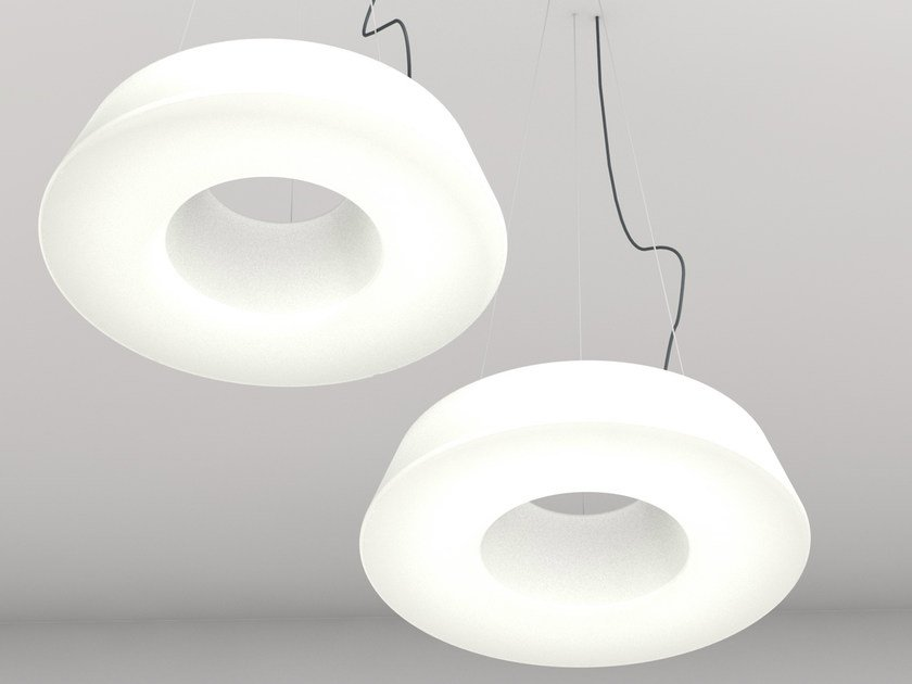 Polyethylene pendant lamp
