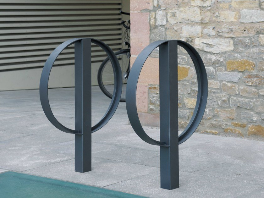 Metal Bicycle rack BIKE STAND C1000 by BENKERT BÄNKE