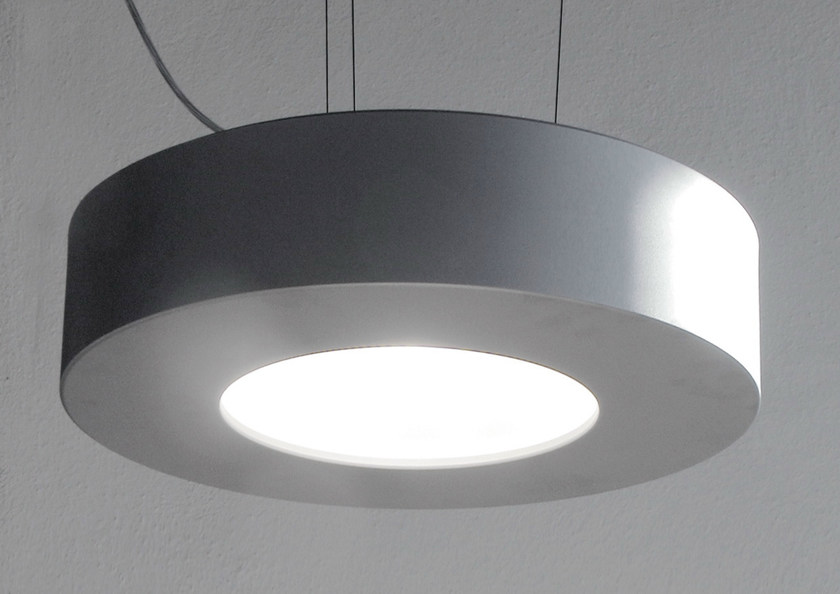 Direct light aluminium pendant lamp