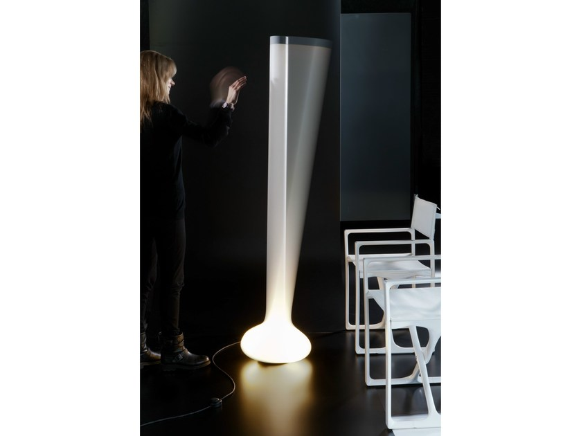 Polyethylene floor lamp PIN | Floor lamp by Martinelli Luce