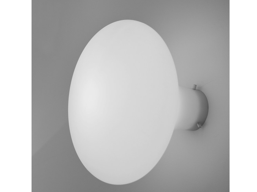 Design fluorescent polyethylene ceiling lamp