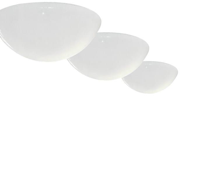 Design fluorescent methacrylate ceiling lamp
