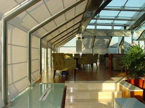 Roman blind - Hilton Hotel - Wintermeeting