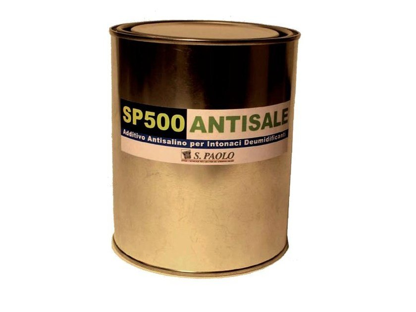 Chemical barrier anti-humidity system SP500 - S. PAOLO