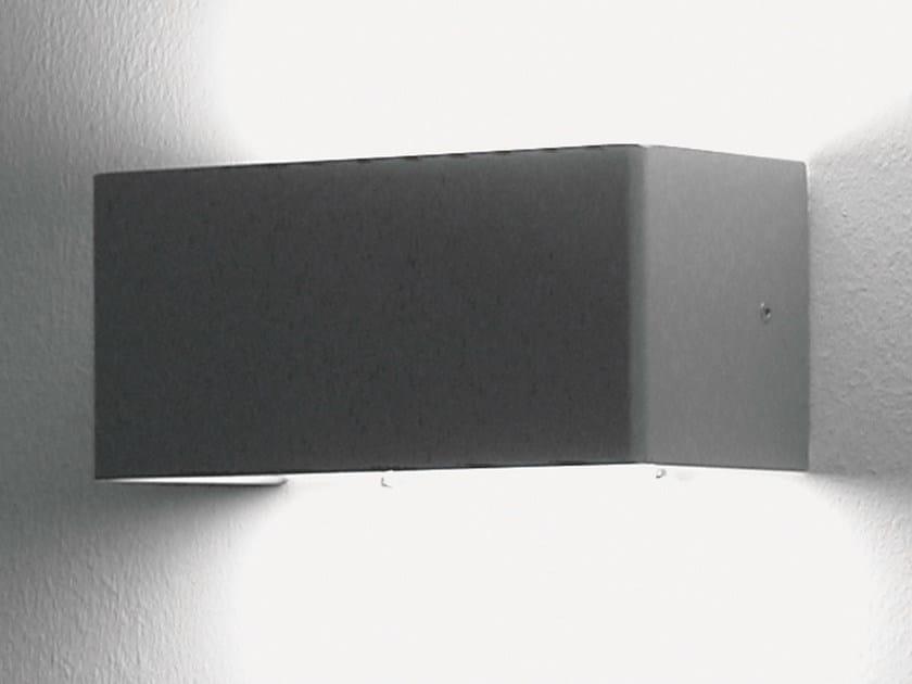 Design indirect light halogen metal wall light