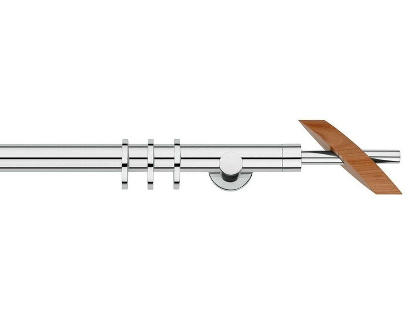 Contemporary style aluminium curtain rod BELINDA - Scaglioni