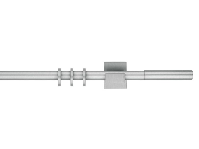 Contemporary style aluminium curtain rod APOLLO by Scaglioni