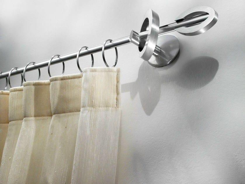 Contemporary style aluminium curtain rod DALIA by Scaglioni