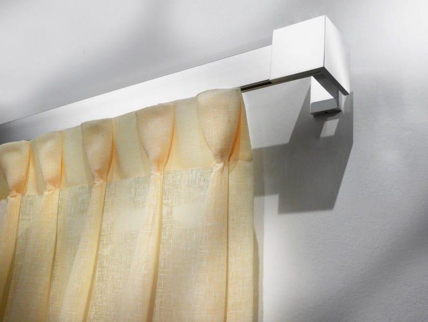 Contemporary style aluminium curtain rod NEMESI - Scaglioni