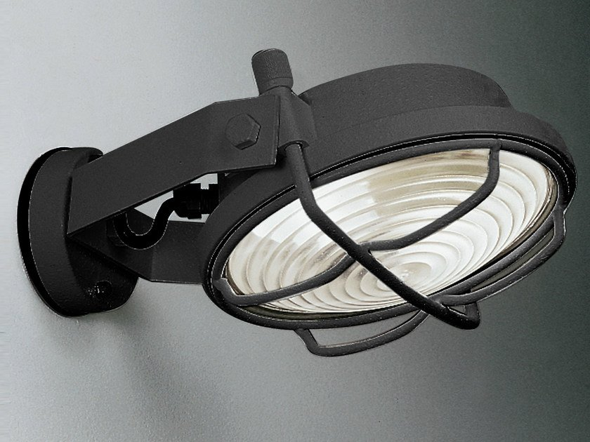 Fluorescent adjustable Outdoor floodlight SISTEMA OUT by Martinelli Luce