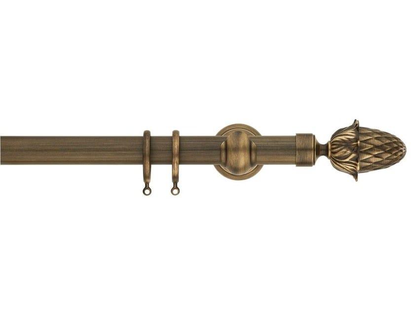 Bastone per tende in ottone in stile classico mercurio for Bastone per velux