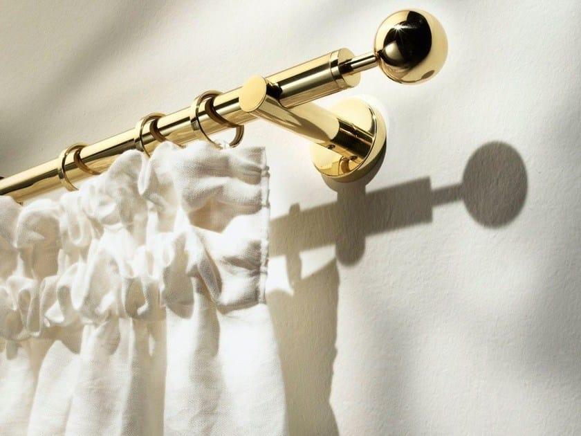 Classic style brass curtain rod PALLADE - Scaglioni