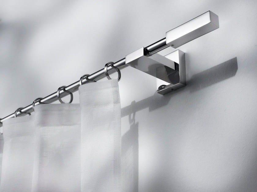 Contemporary style steel curtain rod TALASSA - Scaglioni
