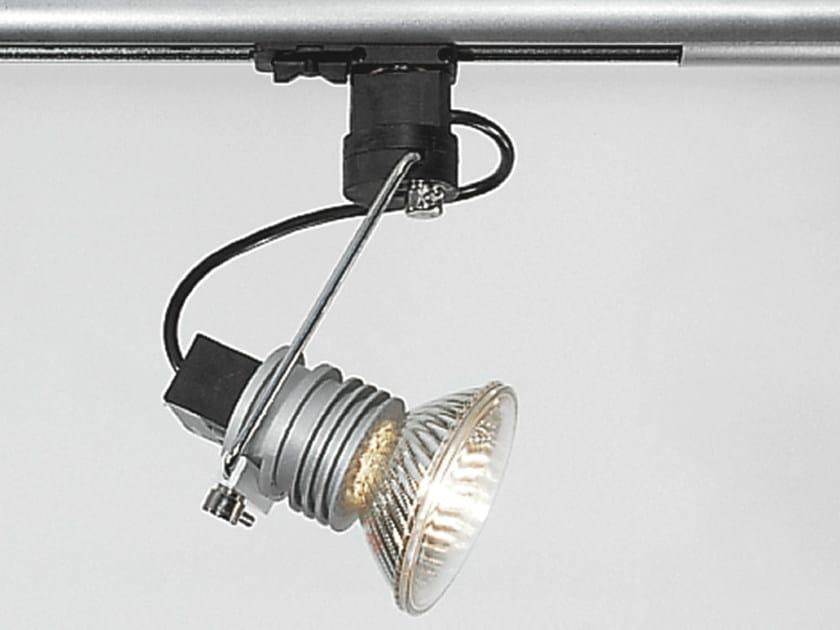 Design halogen adjustable aluminium track-light