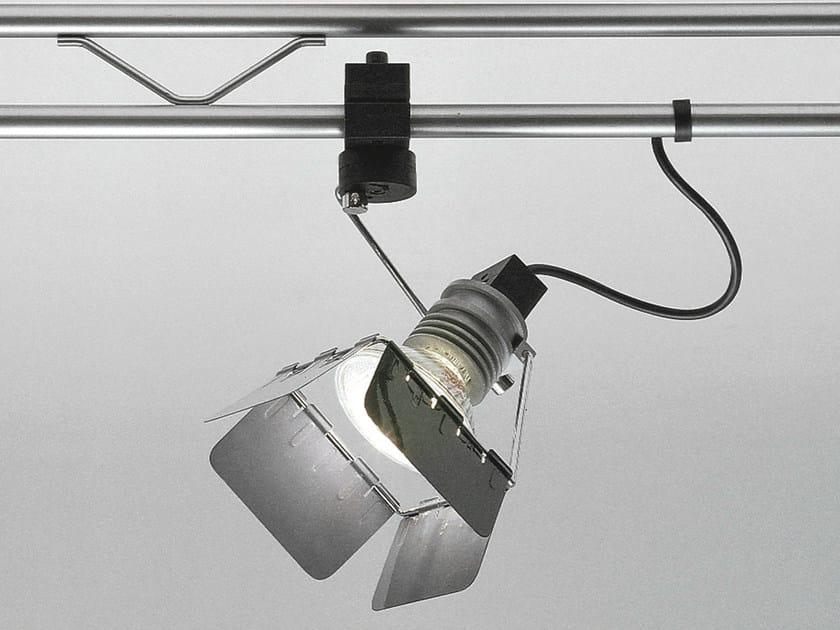 Halogen adjustable aluminium spotlight SISTEMA TRIK   Spotlight by Martinelli Luce
