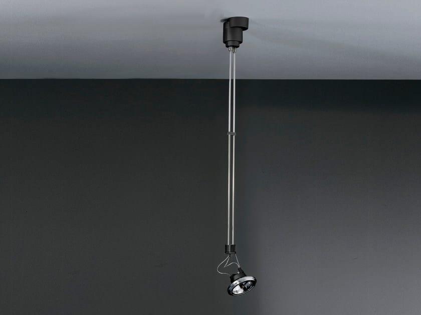 Suspended halogen adjustable spotlight