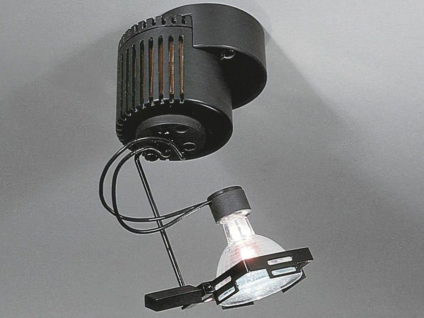 Halogen adjustable ceiling spotlight