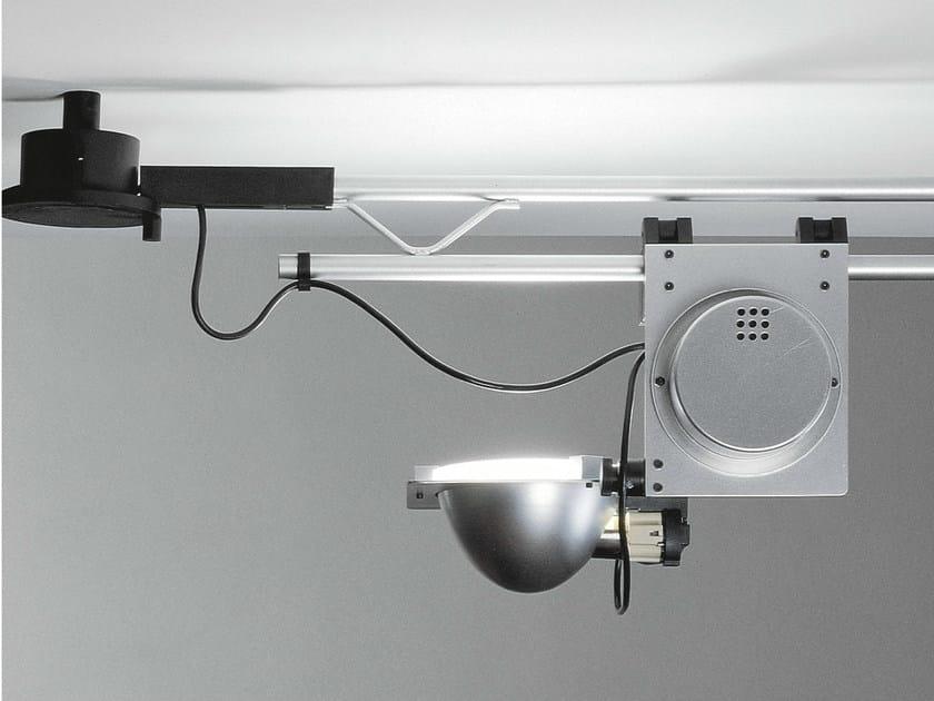 Metal halide adjustable track-light