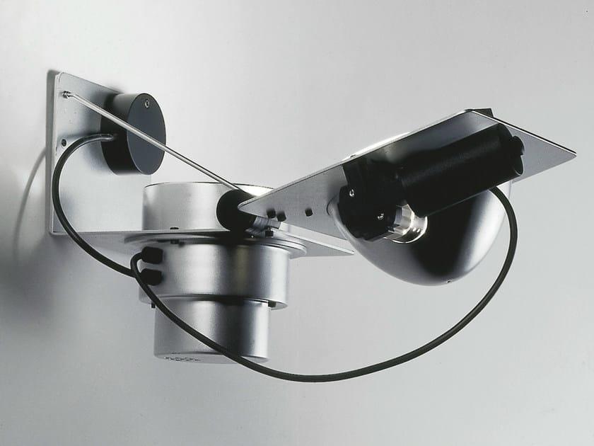 Metal halide aluminium wall lamp