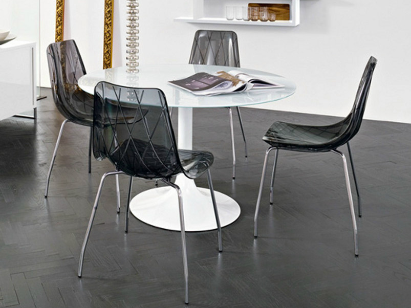 Plastic chair LYNEA by DOMITALIA