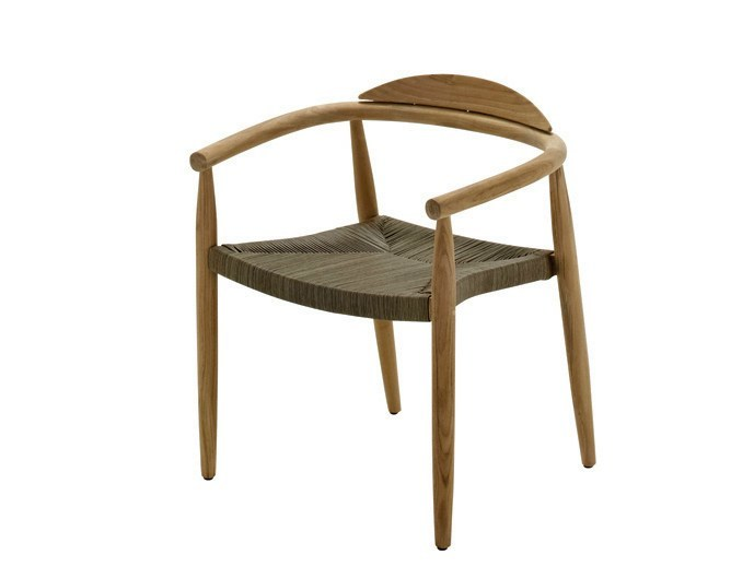 Garden chair with armrests DANSK | Garden chair - Gloster