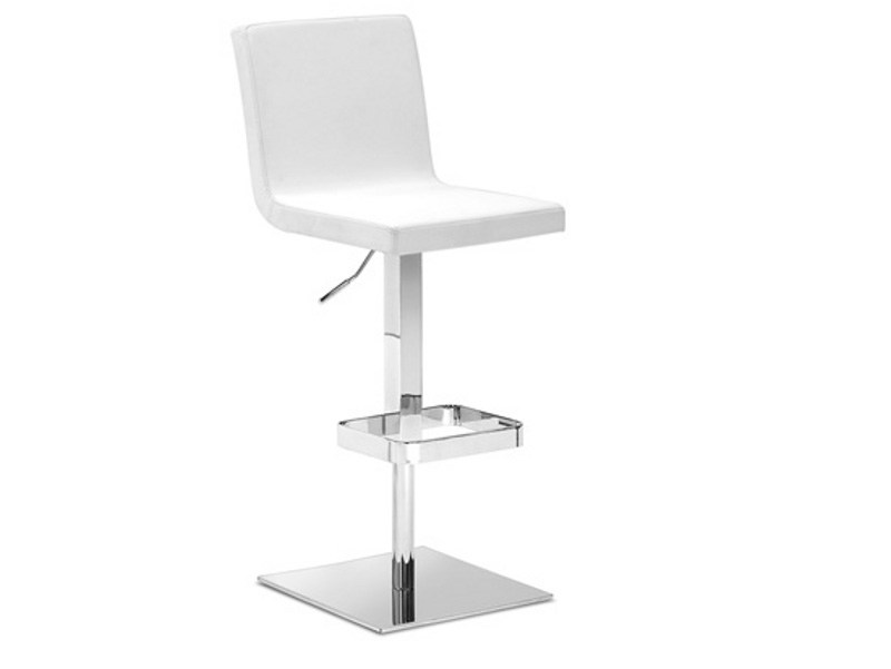 Height-adjustable high swivel stool AFRO-SGQ by DOMITALIA
